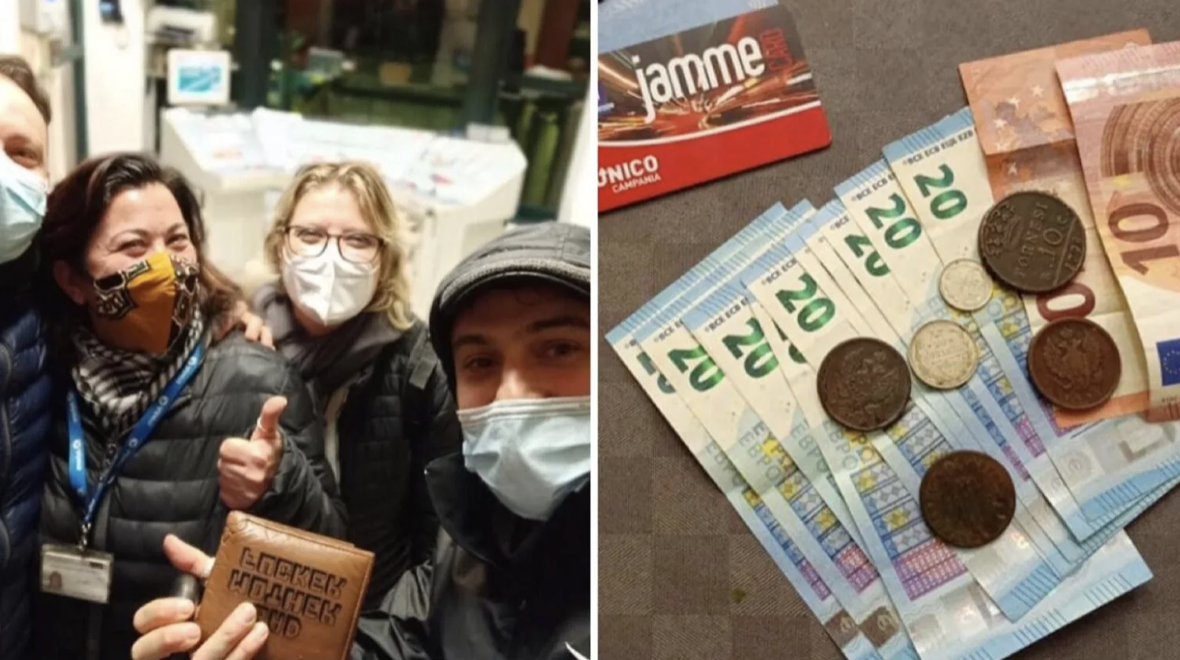 Napoli, ragazzi trovano e restituiscono un portafoglio con 280 euro e carte di credito