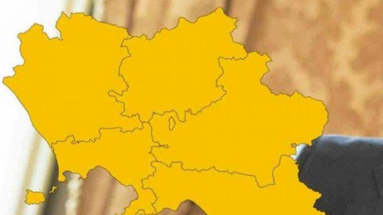 Covid, Campania in zona gialla: arriva la conferma