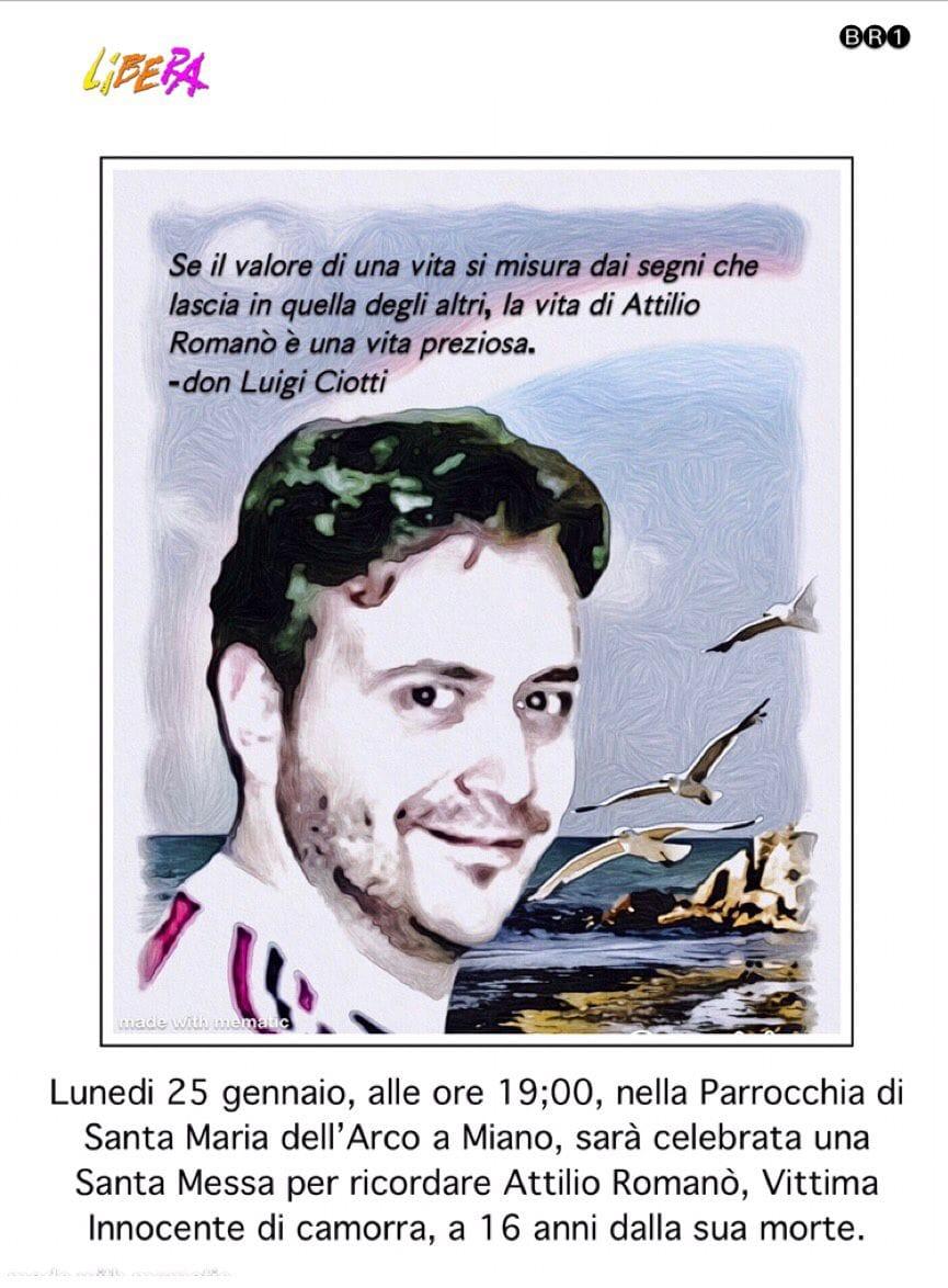 Miano, una messa per ricordare Attilio Romanò lunedì 25 gennaio