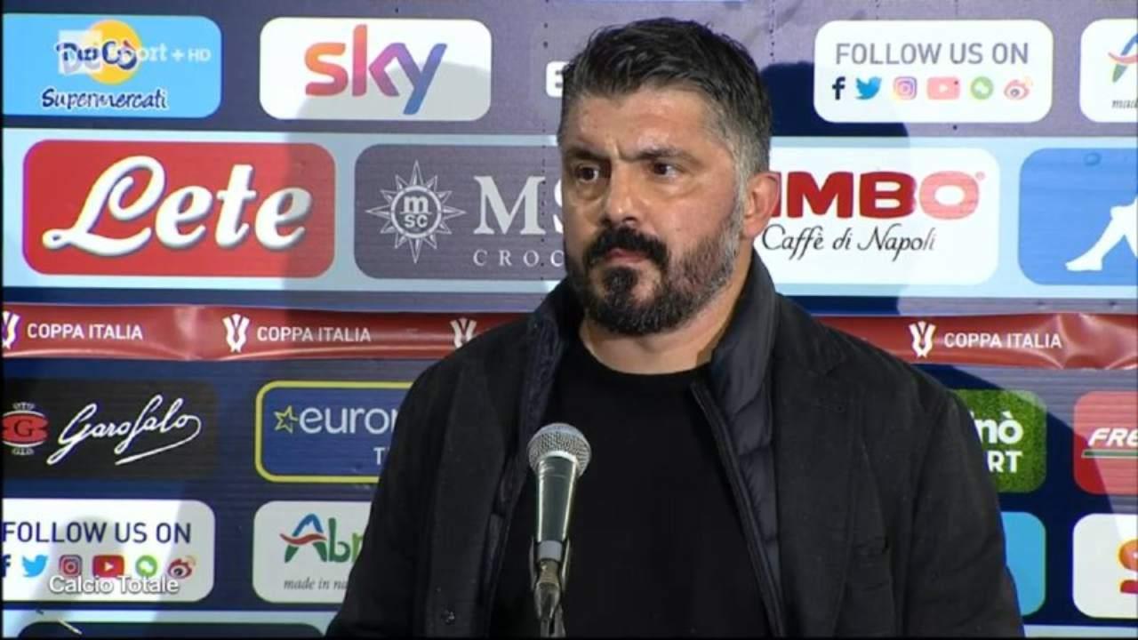 Coppa Italia, Atalanta-Napoli 3-1: Gattuso sempre più in bilico