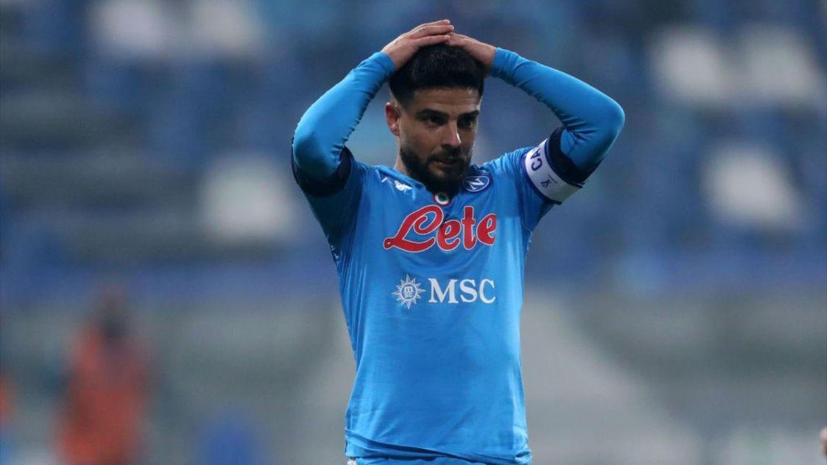 Napoli, in stallo il rinnovo di Insigne: l'Inter ci pensa