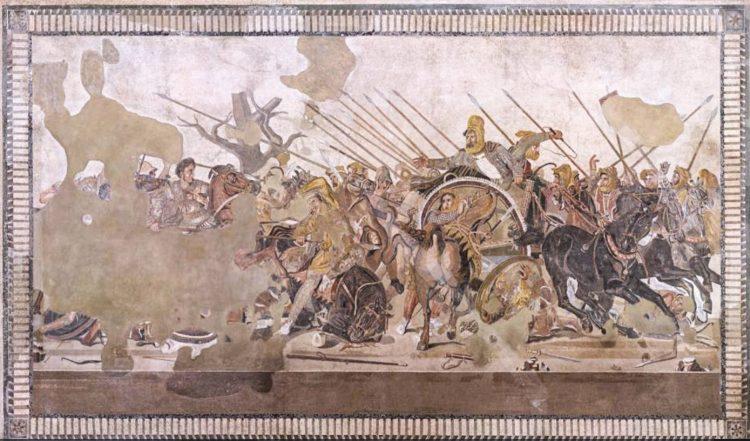 Napoli, al via il restauro del grande Mosaico di Alessandro da Pompei