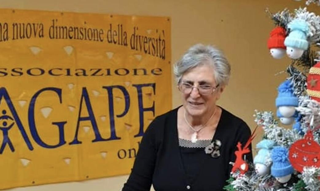 Addio a Vera Perna, presidente dell'associazione Agape