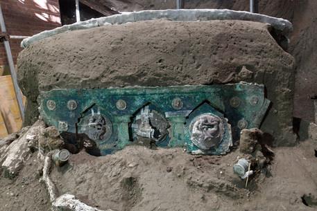 Eros e nozze, a Pompei ritrovato un carro mai visto