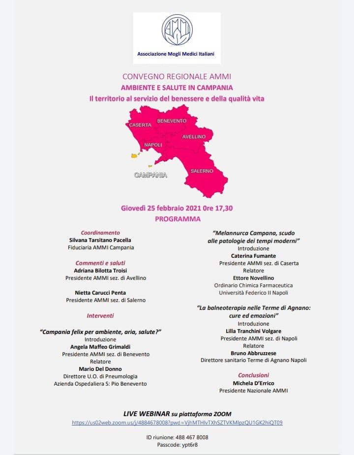 Ambiente e salute in Campania: Il territorio al servizio del benessere e della qualità di vita