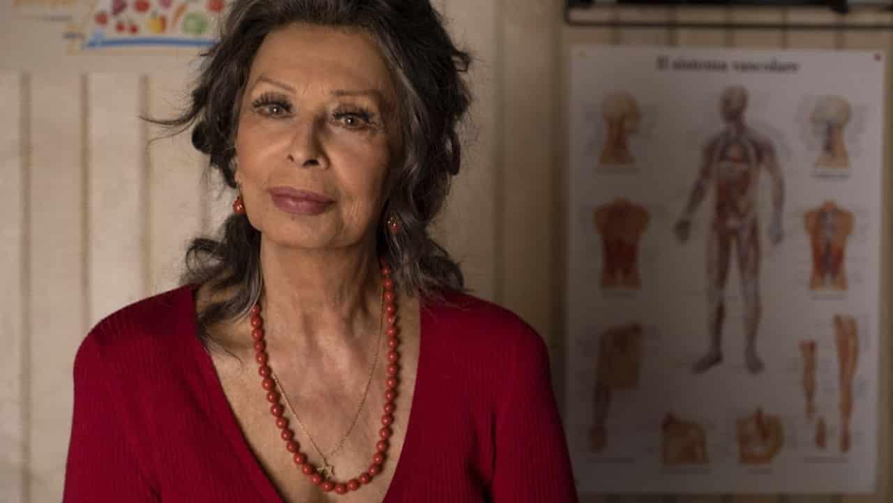 """A Sophia Loren il Nastro di platino per """"La vita davanti a sé"""""""