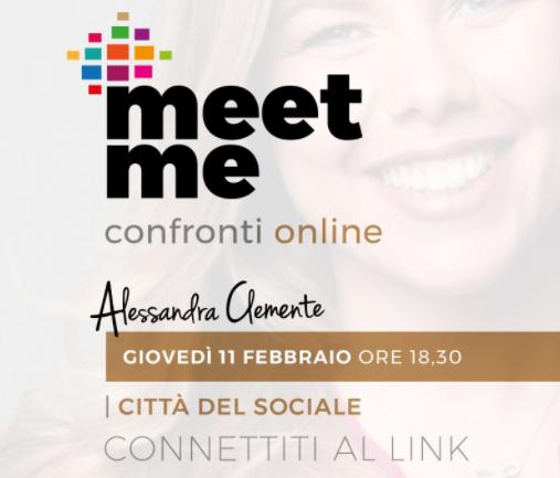 """""""La città sociale"""", Forum con Alessandra Clemente"""