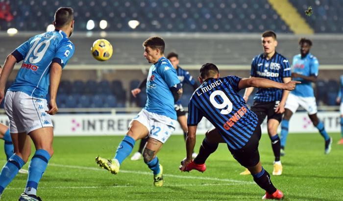Atalanta-Napoli 4-2: per gli azzurri una crisi senza fine