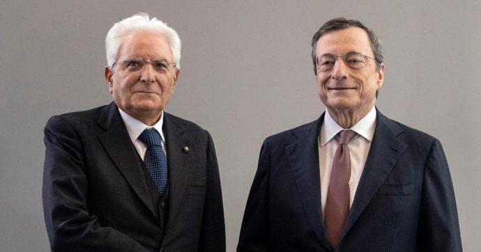 """Draghi incontra Mattarella e accetta l'incarico: """"L'emergenza richiede risposte all'altezza"""""""
