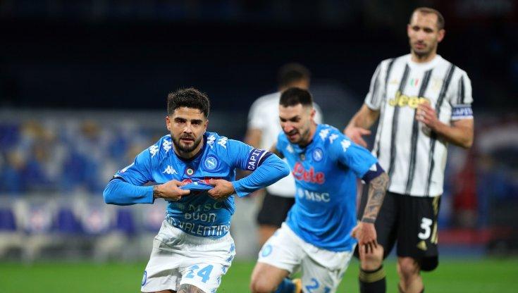Napoli-Juventus 1-0, decisivo Insigne su rigore