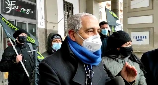 """""""Stop Biocidio"""", conferenza stampa in Piazza del Plebiscito a Napoli (VIDEO)"""