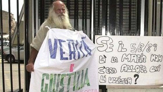 A Palermo il primo 80enne vaccinato è Vincenzo Agostino, padre del poliziotto assassinato nel 1989
