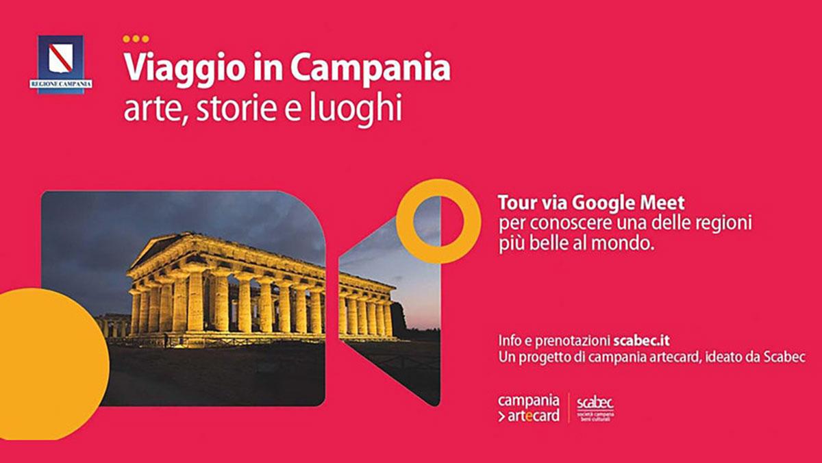 """Torna """"Viaggio in Campania"""" e fa tappa nell'arte contemporanea"""