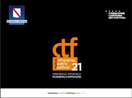 Teatro, presentata l'edizione 2021 del Campania Festival