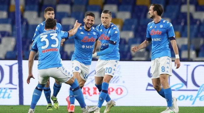 Napoli-Benevento 2-0, Mertens e Politano regalano la vittoria a Gattuso