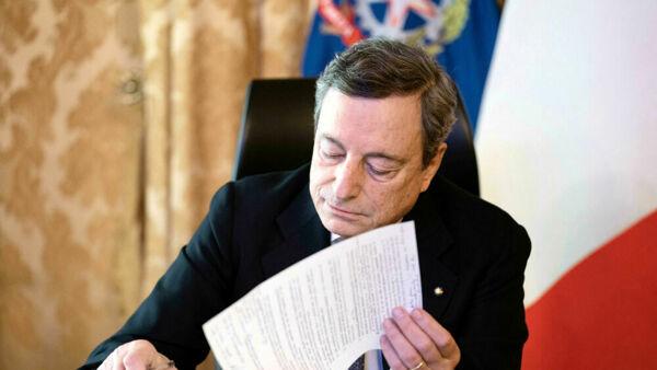 Draghi lima il nuovo Dpcm, oggi la firma: le regole fino a Pasqua