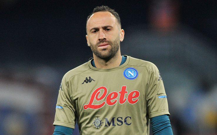 Napoli, brutte notizie per Gattuso: Ospina salta l'Inter per infortunio