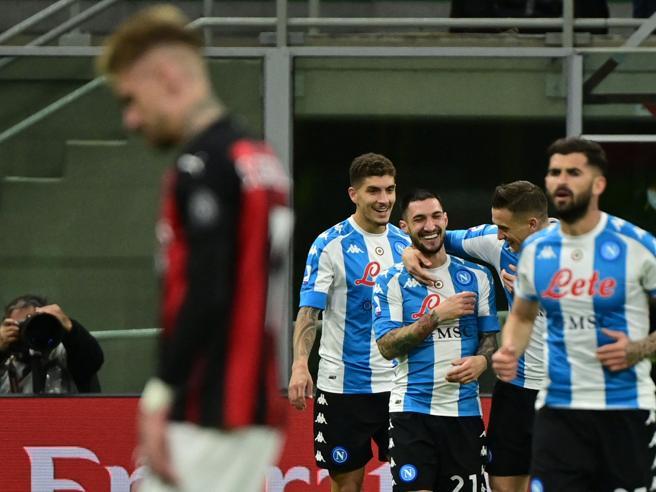 Milan-Napoli 0-1, azzurri espugnano San Siro con un gol di Politano