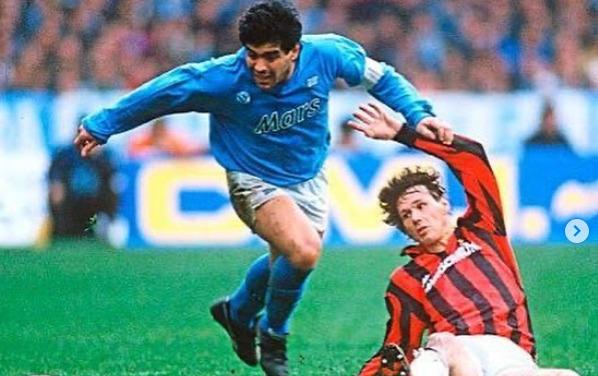 """Van Basten choc: """"Hanno fatto di tutto per dare lo scudetto al Napoli nel 1990"""""""