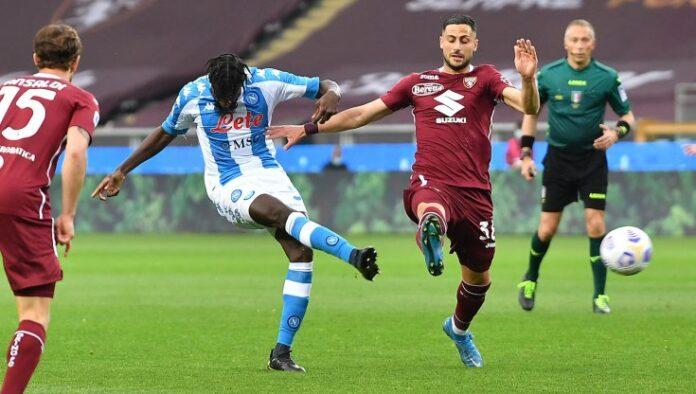 Torino-Napoli 0-2, Bakayoko e Osimhen per l'aggancio alla zona Champions