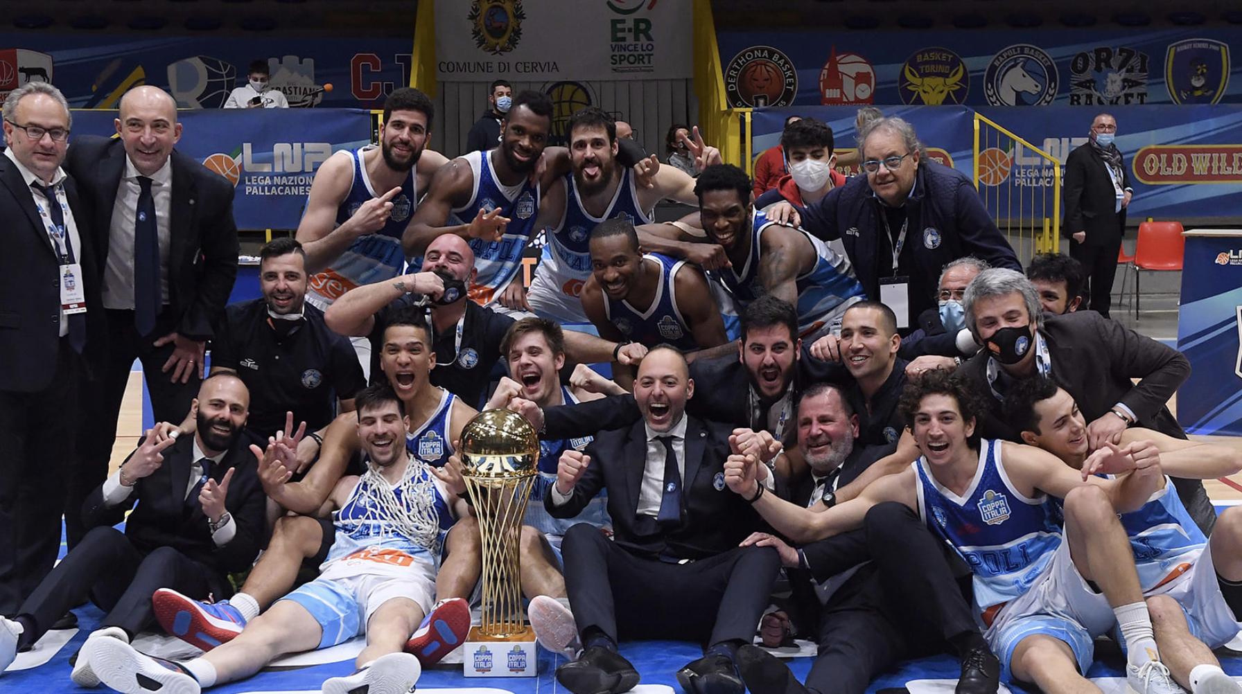 Basket - Gevi Napoli vince Coppa Italia di Serie A2