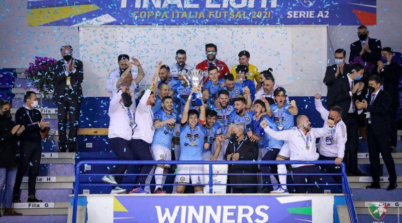 Calcio a 5, dopo l'A1 FF Napoli conquista anche la Coppa Italia