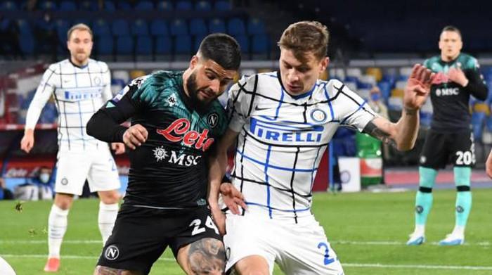 Napoli-Inter 1-1, la squadra di Gattuso resta in scia Champions