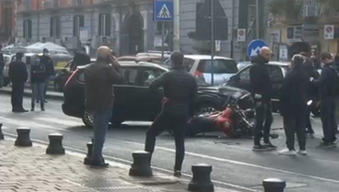 Grave incidente a Mergellina: poliziotto dei Falchi in fin di vita