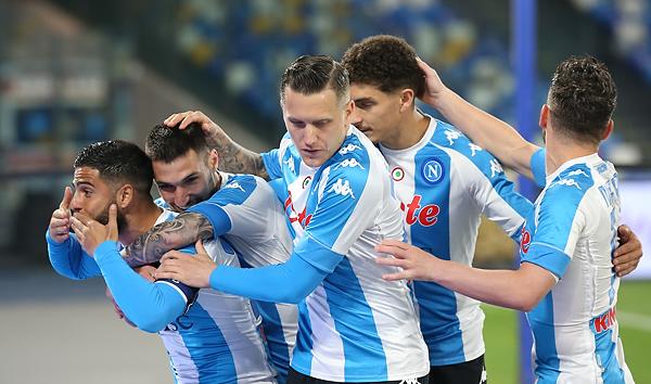 Napoli-Lazio 5-2, Gattuso cala il pokerissimo