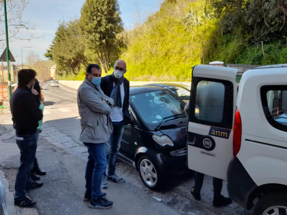Fuorigrotta, lavori in via Terracina: istituito dispositivo di traffico temporaneo