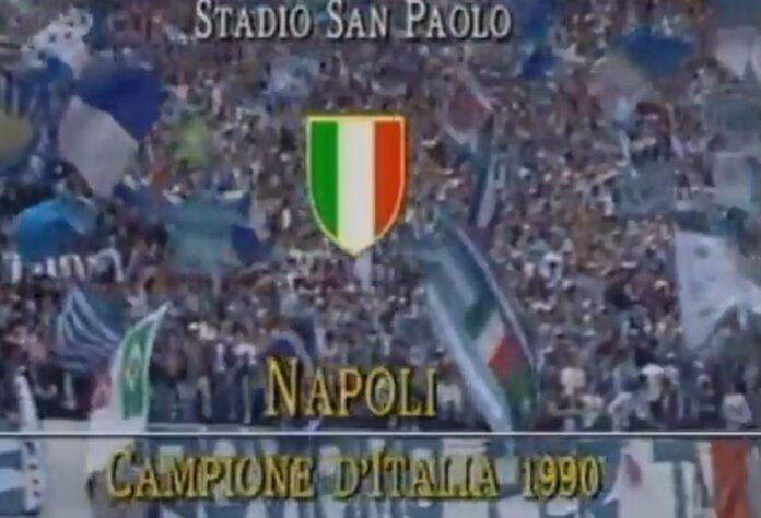 Napoli, il 29 aprile del 1990 il secondo scudetto azzurro