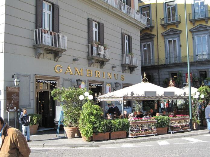 Gambrinus, il Gran Caffè napoletano compie 161 anni