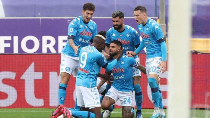 Fiorentina-Napoli 0-2, azzurri con un piede in Champions