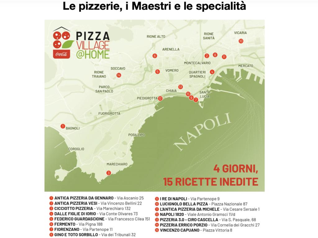 Coca-Cola PizzaVillage@Home