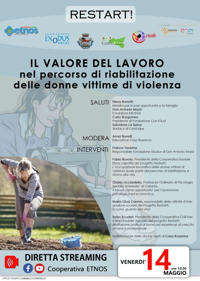 Donne vittime di violenza, evento sociale su valore lavoro