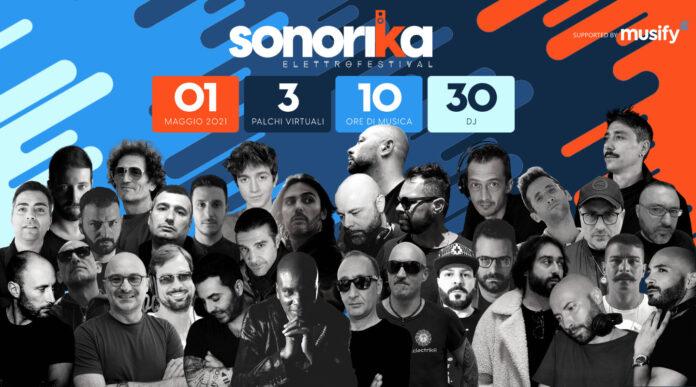 Sonorika ElettroFestival, Primo maggio con 30 dj per 10 ore di musica live