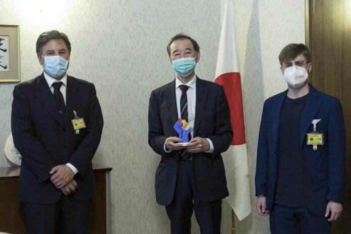 """Informare"" incontra l'ambasciatore giapponese in Italia Hiroshi OE"