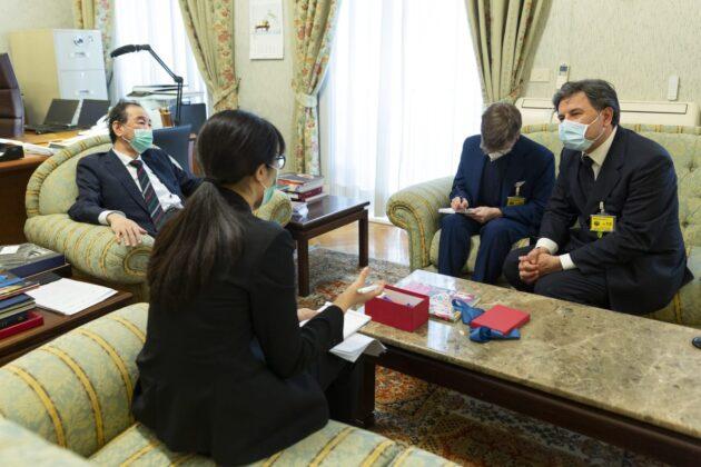 """Informare"" incontra l'ambasciatore giapponese in Italia"