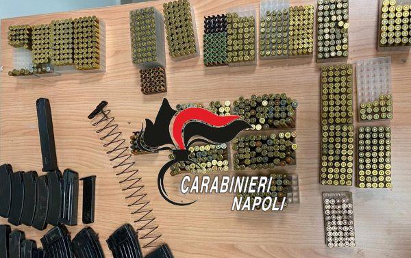 Bagnoli, arsenale camorra in negozio ortofrutta: 2 arresti