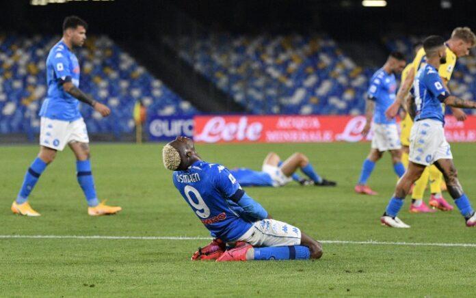 Napoli-Verona 1-1, Rrahmani non basta: addio al sogno Champions