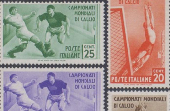 Il mondo del calcio nei francobolli
