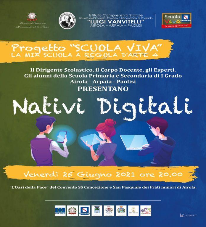 Airola, concluso progetto Scuola Viva Istituto Vanvitelli