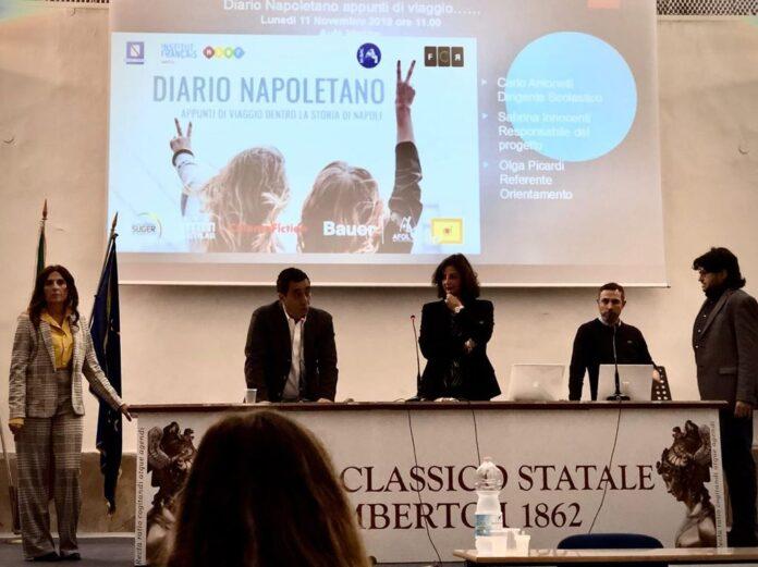 """Cinema, al liceo Umberto si conclude il progetto """"Napoli Ville Lumiere"""""""