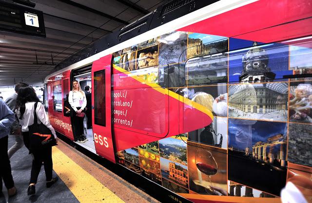 Campania Express: dal 5 giugno torna il treno Eav