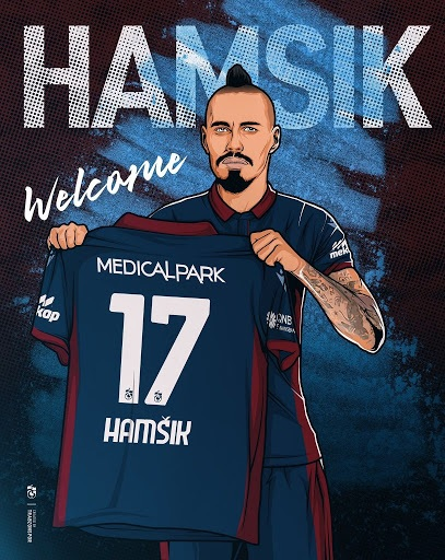 Marek Hamsik firma con il Trabzonspor