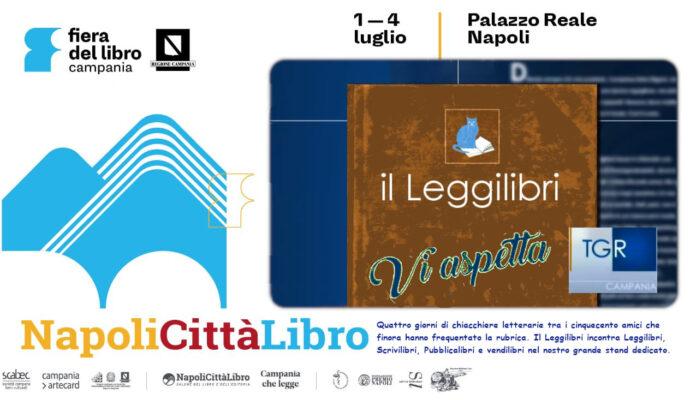 Napoli Città libro, uno stand per il Leggilibri Tgr Campania
