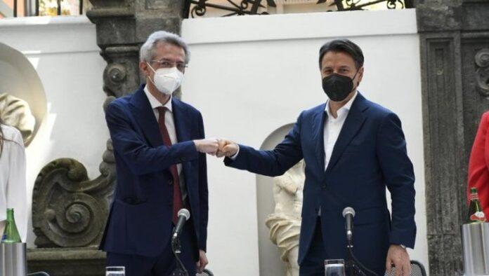 Giuseppe Conte a Napoli per sostenere Gaetano Manfredi