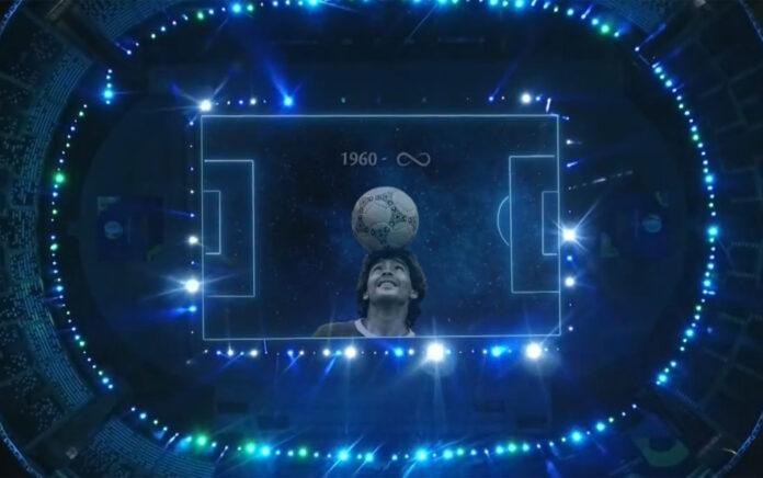 Maradona, il toccante omaggio prima di Argentina-Cile