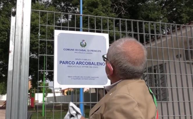 Casal di Principe, parco vittime Covid in bene confiscato