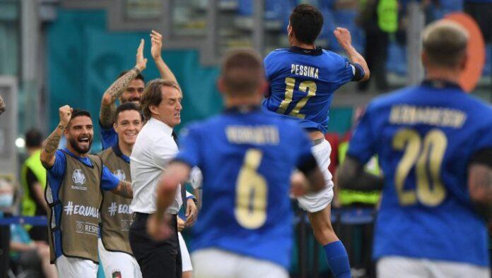 Euro 2020, l'Italia batte anche il Galles: decide Pessina